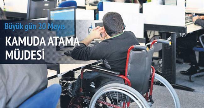 8 bin engelliye iş müjdesi