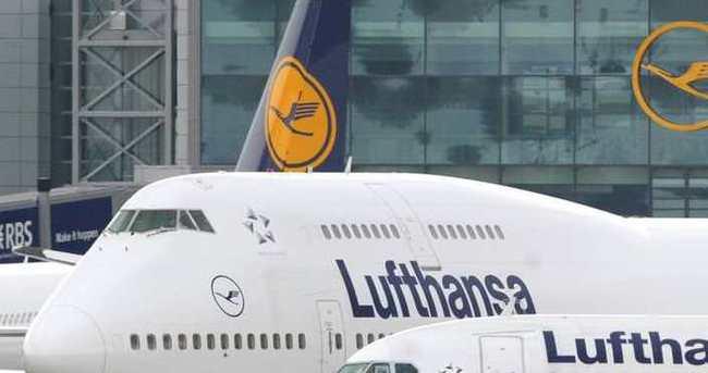Lufthansa uçağı geri döndü