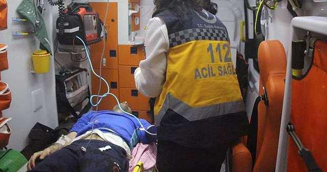 Bolu'da bayrak asma kavgası kanlı bitti