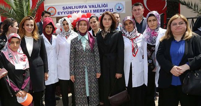Sare Davutoğlu: Dramdan ortak yaşama sevinci çıkarmaya çalışıyoruz