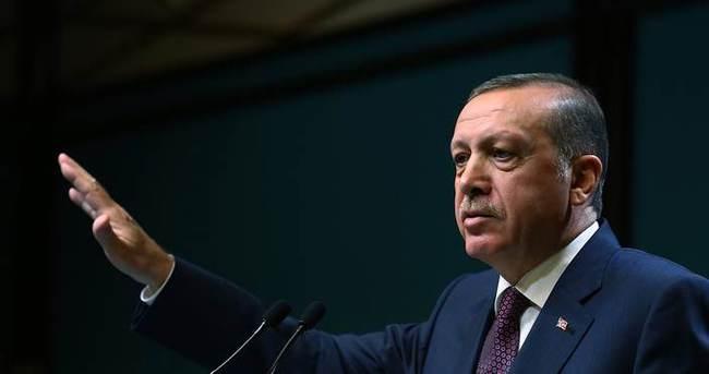 Cumhurbaşkanı Erdoğan gurbetçilere seslendi