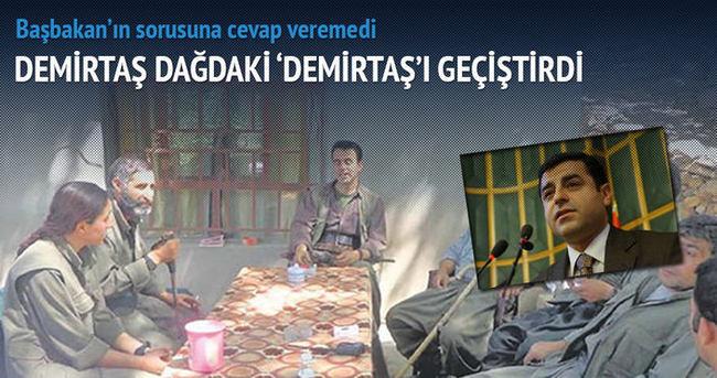 Demirtaş 'dağdaki kardeş' Demirtaş'ı geçiştirdi