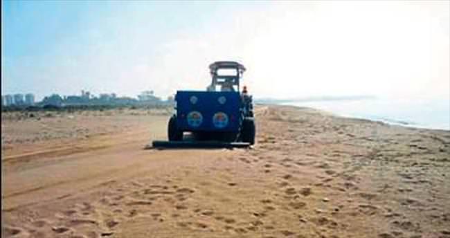 Plajları yeni sezona Büyükşehir hazırlıyor