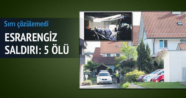 İsviçre'de esrarengiz saldırı