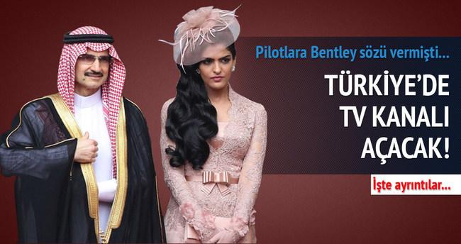 Suud Prens Türkiye'de TV kanalı açacak