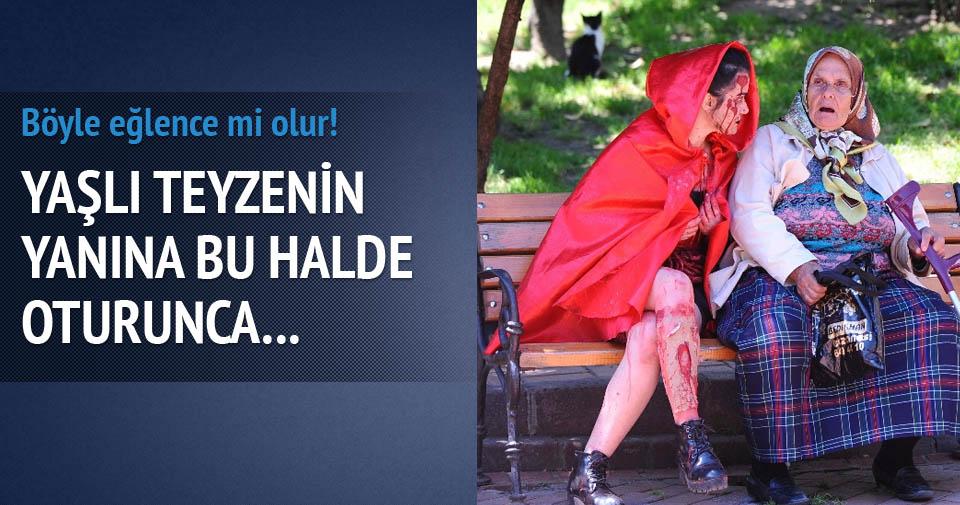 İstanbul'dan zombiler geçti