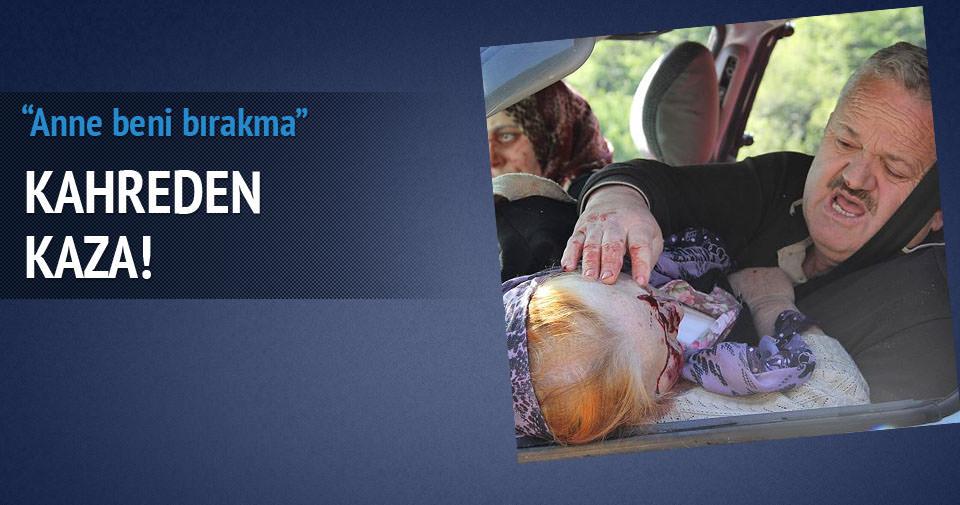 Zonguldak'ta kahreden kaza