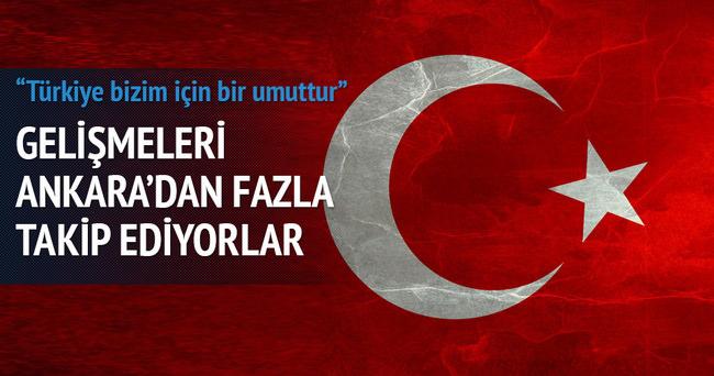 Türkiye bizim için bir umuttur