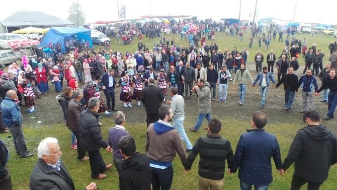 AK Parti Trabzon Milletvekili Adayı Muhammet Balta Kaldırım Yaylası, Hıdrellez Yayla Şenliklerine Katıldı