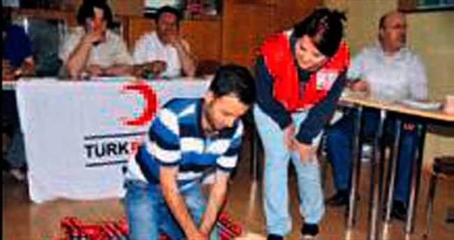 Mamak'ta ilk yardım eğitimi