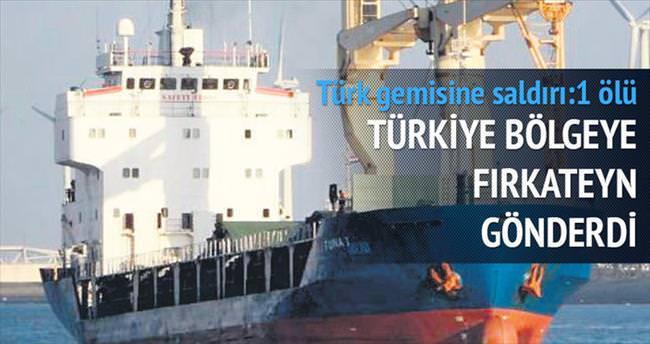 Libya, Türk gemisine saldırdı