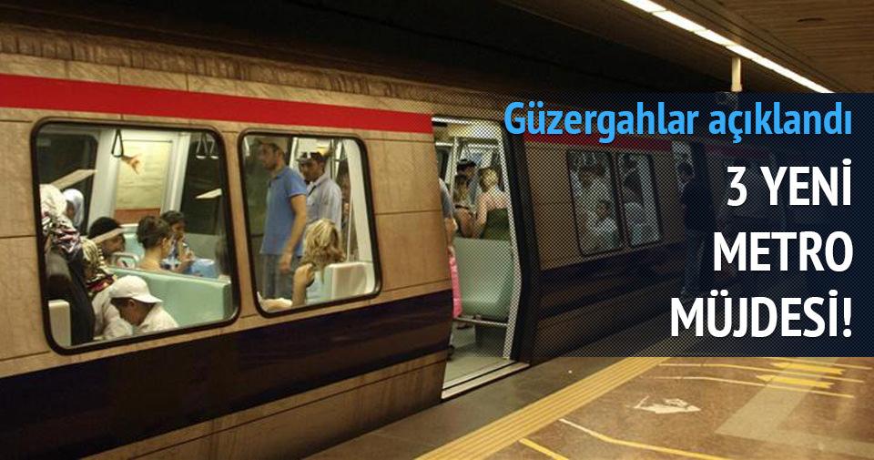 Kadir Topbaş'tan 3 yeni metro müjdesi