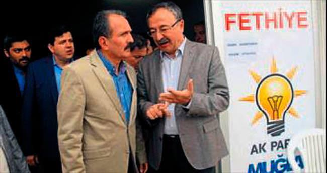Başkan Saatcı AK Parti'de
