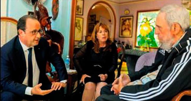 Hollande Castro kardeşlerle görüştü