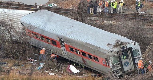 ABD'de tren kazası: 5 ölü
