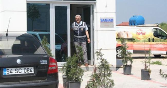 SAGİAD Derneğinde polis arama yaptı