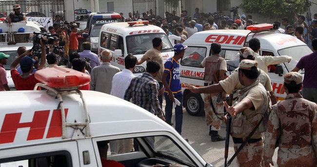 Pakistan'da terör saldırısı: 45 ölü