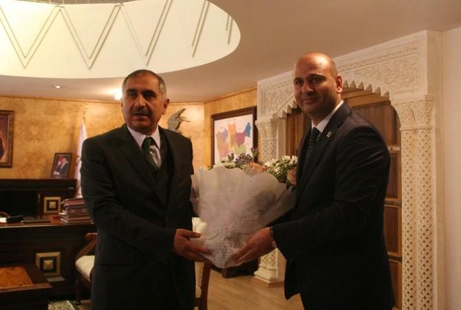 Mali Müşavirlerden Mardin Valisi Koçak'a Ziyaret