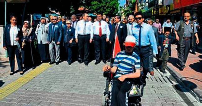 Tarsus'ta 'özel' etkinlik yapıldı