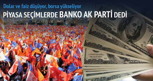 Piyasa AK Parti'yi fiyatlıyor