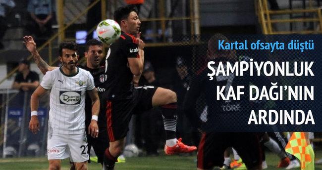 Beşiktaş ağır yaralı