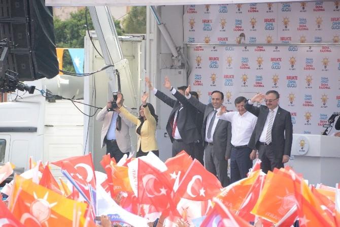 Başbakan Davutoğlu, Muğla'ya Müjdeler Verdi
