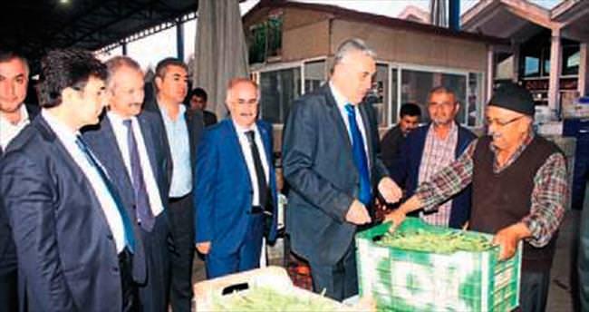 MHP Adayları Toptancı Hal'de