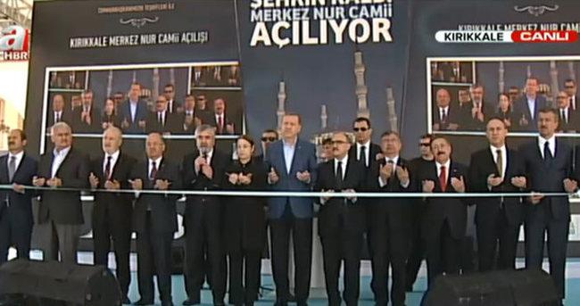 Cumhurbaşkanı Erdoğan, Nur Camisi'ni açtı