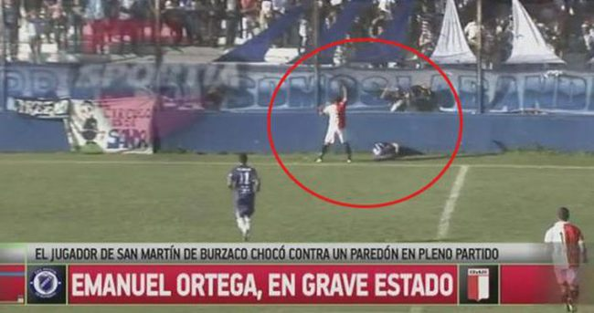 Emanuel Ortega maçta öldü