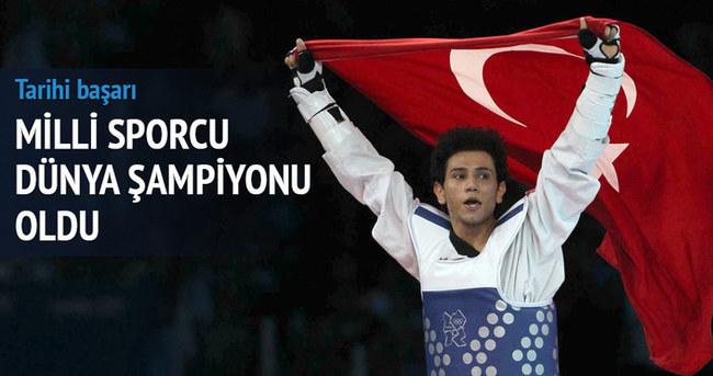 Servet Tazegül dünya şampiyonu