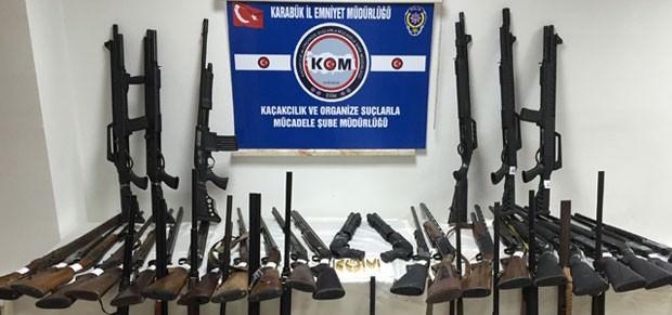 Karabük'te Av Tüfeği Operasyonu