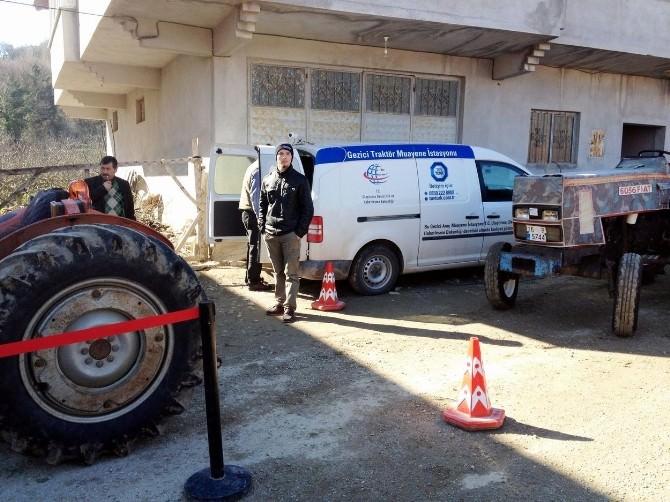 Mudanya'da 500 Traktör Fenni Muayene Bekliyor