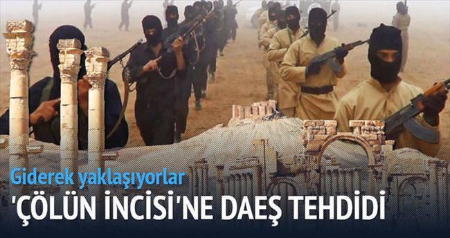 Çölün incisi Palmira IŞİD tehdidi altında