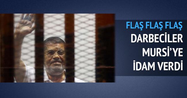 Mısır'ın seçilmiş Cumhurbaşkanı idama mahkum edildi