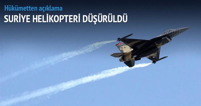 Türkiye, Suriye hava aracını vurdu