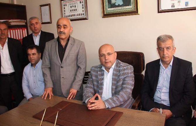 Sedat Namal, Muhtarlar Derneklerini Ziyaret Etti