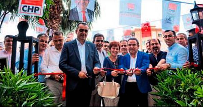 Budak Konyaaltı'da 3. seçim ofisini açtı