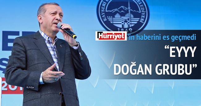 Cumhurbaşkanı Erdoğan Kayseri'de konuştu