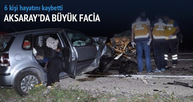 Aksaray'da büyük facia! 6 kişi hayatını kaybetti