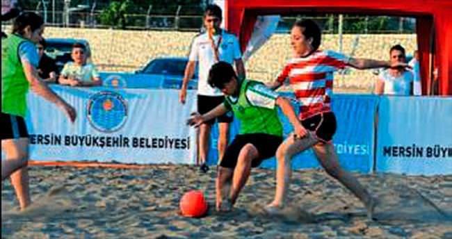 Mersin'de Plaj Oyunları
