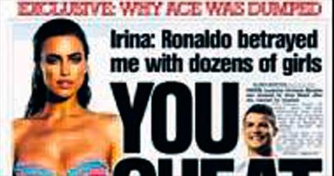 Ronaldo Irina'yı aldatmış!