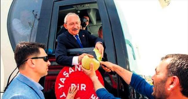 'Sorunları çözecek tek adres CHP'