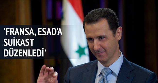 'Fransa, Esad'a suikast düzenledi'