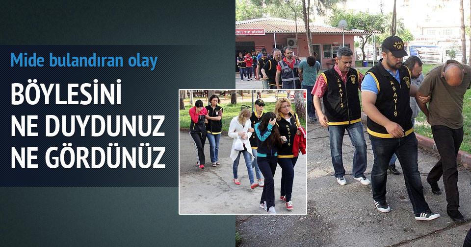 Adana'da eş değiştirmeli fuhuş operasyonu