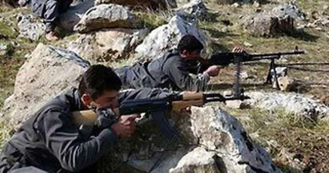 Teröristler Dağlıca'da havan atışı yaptı