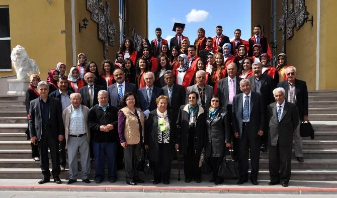 Enstitü Mezunları 50 Yıl Sonra Akef'te Buluştu