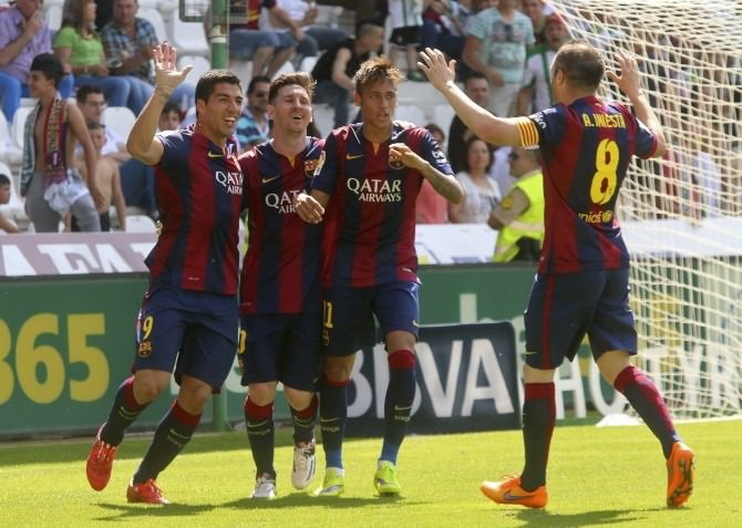 Messı, Neymar Ve Suarez Gole Doymuyor