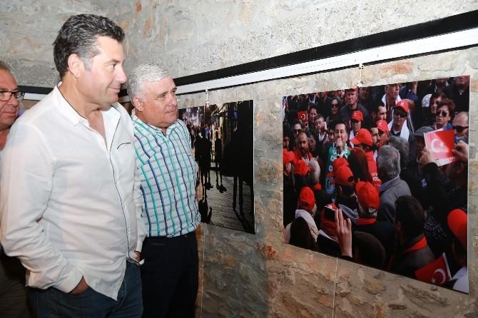 Başkan Kocadon İHA Muhabirinin Fotoğraflarına Hayran Kaldı
