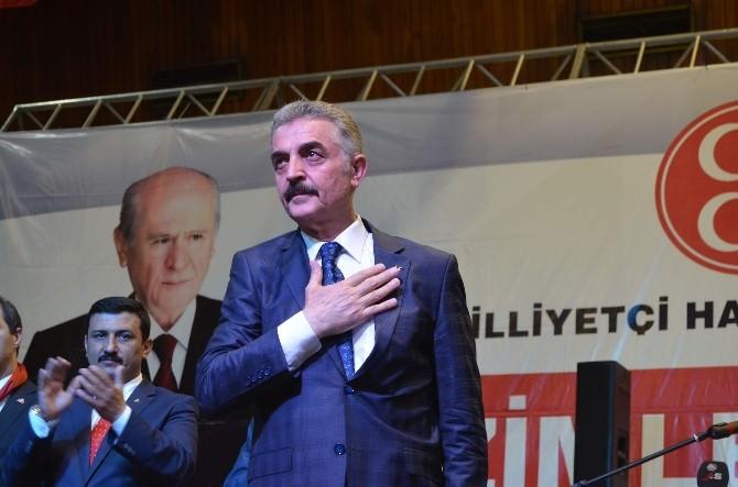 MHP Genel Sekreteri Ve Bursa Milletvekili Adayı İsmet Büyükataman