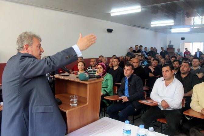 Pekşen'den Hekimoğlu'na Ziyaret